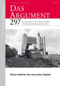 Das Argument, Nr. 297