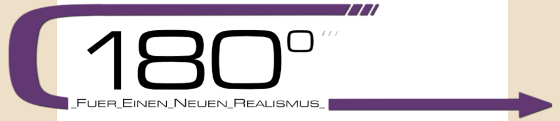 Logo der Gruppe 180°