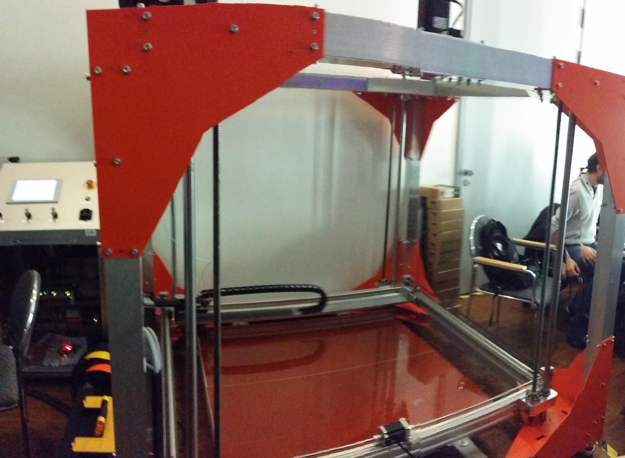 3D-Drucker (auf dem 31C3, Hamburg)