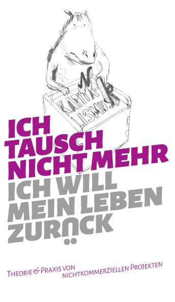 """Cover der Broschüre """"ich tausch nicht mehr - ich will mein Leben zurück"""""""
