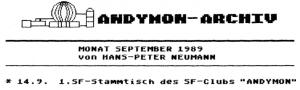 Andymon-Stammtisch