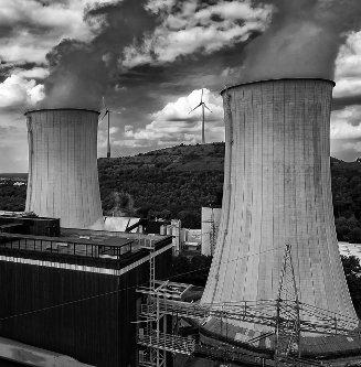 Kühltürme des Kohlekraftwerks Scholven – Foto von Klaus Fritsche, Lizenz: CC BY-NC-SA 2.0